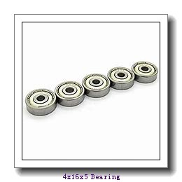 4 mm x 16 mm x 5 mm  ISB 634-Z deep groove ball bearings