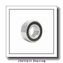 20 mm x 52 mm x 21 mm  NACHI NU 2304 cylindrical roller bearings