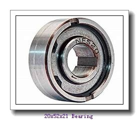 20 mm x 52 mm x 21 mm  NACHI NUP 2304 cylindrical roller bearings