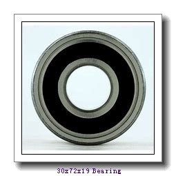 30,000 mm x 72,000 mm x 19,000 mm  NTN 6306ZNR deep groove ball bearings