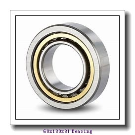 60 mm x 130 mm x 31 mm  NSK 7312BEA angular contact ball bearings