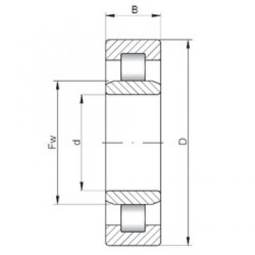 60 mm x 130 mm x 31 mm  ISO NU312 cylindrical roller bearings