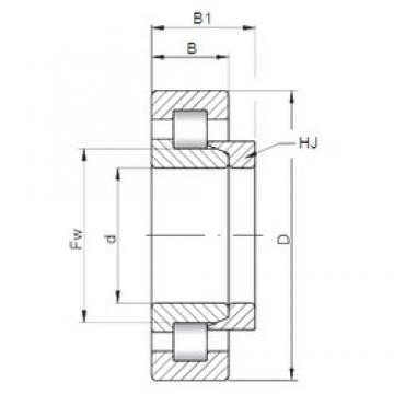 20 mm x 52 mm x 21 mm  ISO NH2304 cylindrical roller bearings