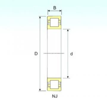 30 mm x 72 mm x 19 mm  ISB NUP 306 cylindrical roller bearings