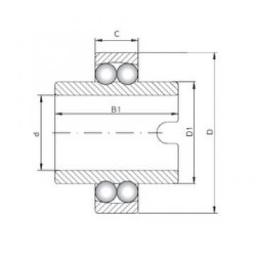 ISO 11306 self aligning ball bearings