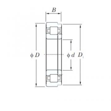 160 mm x 340 mm x 114 mm  KOYO NUP2332 cylindrical roller bearings