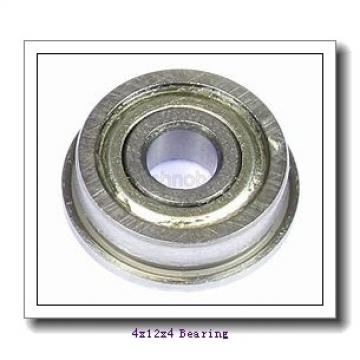 4 mm x 12 mm x 4 mm  ISB 604-Z deep groove ball bearings