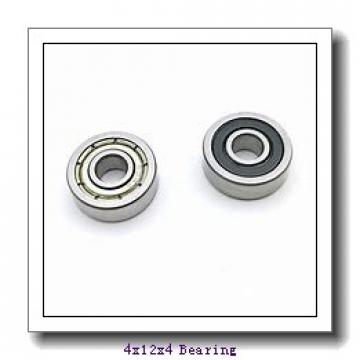 4 mm x 12 mm x 4 mm  ISO 604-2RS deep groove ball bearings