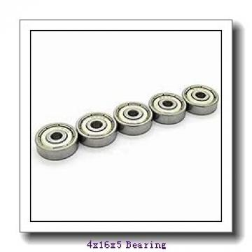 4 mm x 16 mm x 5 mm  KOYO 634 deep groove ball bearings