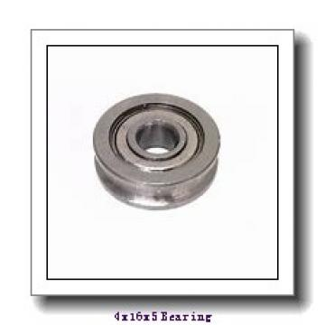 4 mm x 16 mm x 5 mm  FBJ F634ZZ deep groove ball bearings