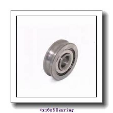 4 mm x 16 mm x 5 mm  SKF W634-2Z deep groove ball bearings