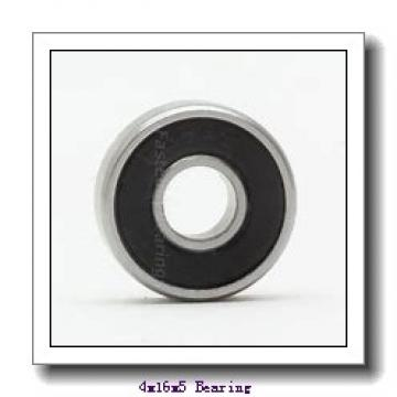 4 mm x 16 mm x 5 mm  NMB R-1640 deep groove ball bearings