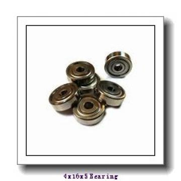 4 mm x 16 mm x 5 mm  ISB 634-RS deep groove ball bearings