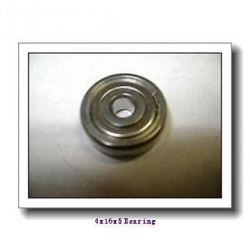 4 mm x 16 mm x 5 mm  ISB F634 deep groove ball bearings
