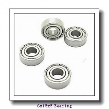 6 mm x 15 mm x 5 mm  ISB 696ZZ deep groove ball bearings