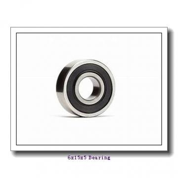 6 mm x 15 mm x 5 mm  NSK 696 ZZ1 deep groove ball bearings