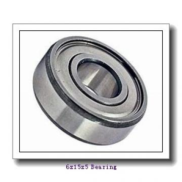 6 mm x 15 mm x 5 mm  NMB RF-1560ZZ deep groove ball bearings