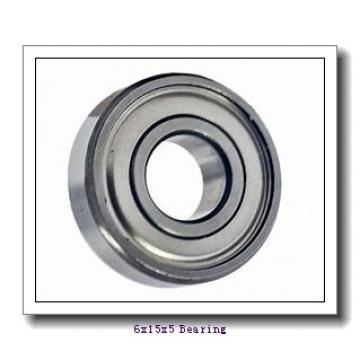6 mm x 15 mm x 5 mm  NSK 696 DD deep groove ball bearings
