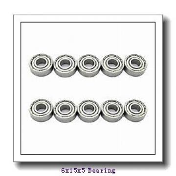 6 mm x 15 mm x 5 mm  ISO 619/6 deep groove ball bearings