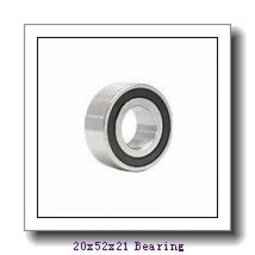 20 mm x 52 mm x 21 mm  Loyal NJ2304 E cylindrical roller bearings