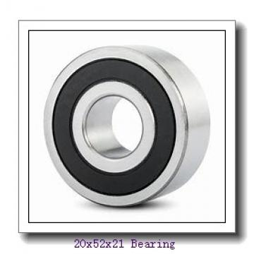 20 mm x 52 mm x 21 mm  ISO 62304-2RS deep groove ball bearings
