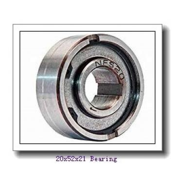 20 mm x 52 mm x 21 mm  ISB NUP 2304 cylindrical roller bearings