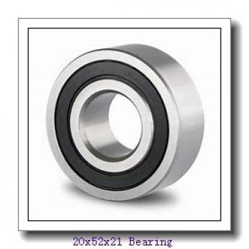 20 mm x 52 mm x 21 mm  Loyal 2304 self aligning ball bearings