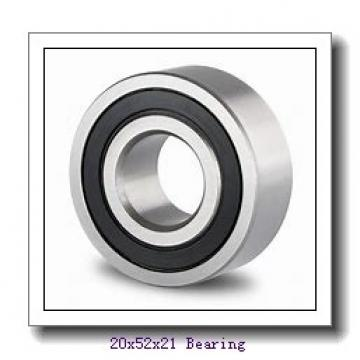 20 mm x 52 mm x 21 mm  ISO NU2304 cylindrical roller bearings