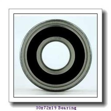 30 mm x 72 mm x 19 mm  NACHI 7306C angular contact ball bearings
