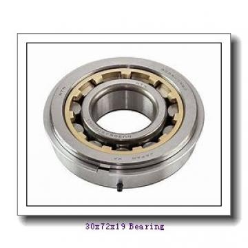 30 mm x 72 mm x 19 mm  ZEN 6306-2RS deep groove ball bearings
