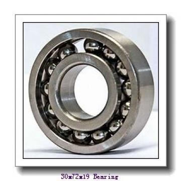 30 mm x 72 mm x 19 mm  KOYO 7306C angular contact ball bearings