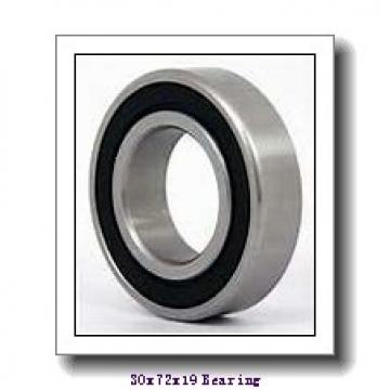 30 mm x 72 mm x 18,923 mm  Timken 26118-S/26283-S tapered roller bearings