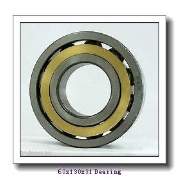 60 mm x 130 mm x 31 mm  FBJ NF312 cylindrical roller bearings