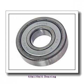 60 mm x 130 mm x 31 mm  ISO NF312 cylindrical roller bearings