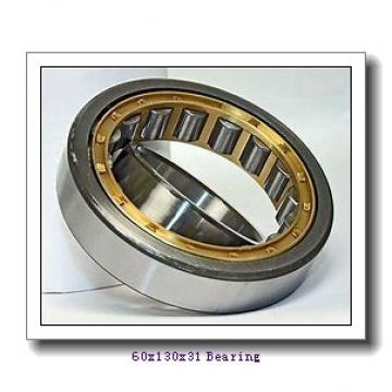 60 mm x 130 mm x 31 mm  KBC 6312DD deep groove ball bearings