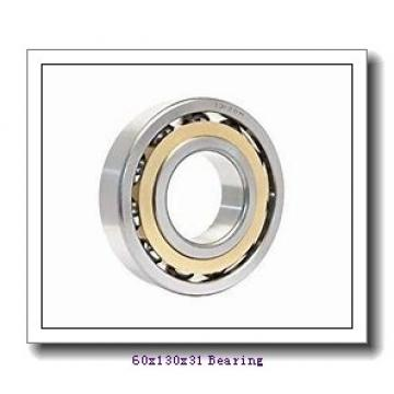 60 mm x 130 mm x 31 mm  ISO N312 cylindrical roller bearings