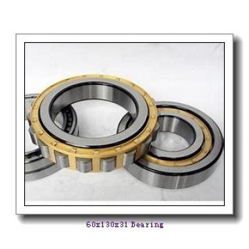 60 mm x 130 mm x 31 mm  NACHI NUP312EG cylindrical roller bearings