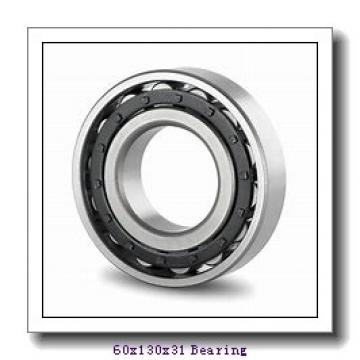 60 mm x 130 mm x 31 mm  NTN 7312BDF angular contact ball bearings
