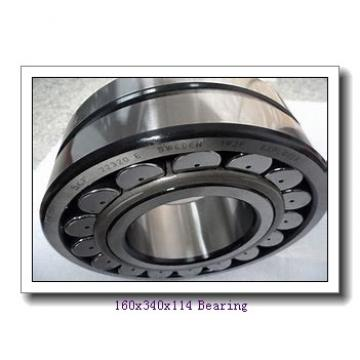 160 mm x 340 mm x 114 mm  ISO 22332 KCW33+H2332 spherical roller bearings
