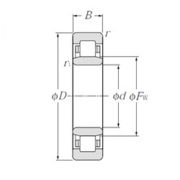 80 mm x 125 mm x 22 mm  CYSD NU1016 cylindrical roller bearings #2 image