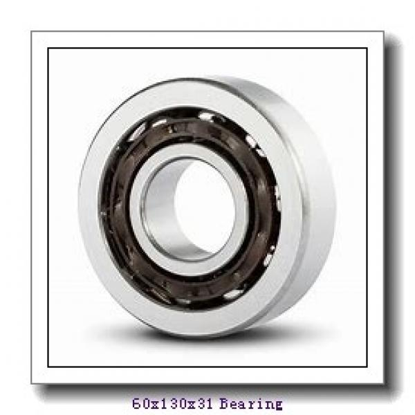 60 mm x 130 mm x 31 mm  Loyal NU312 cylindrical roller bearings #1 image