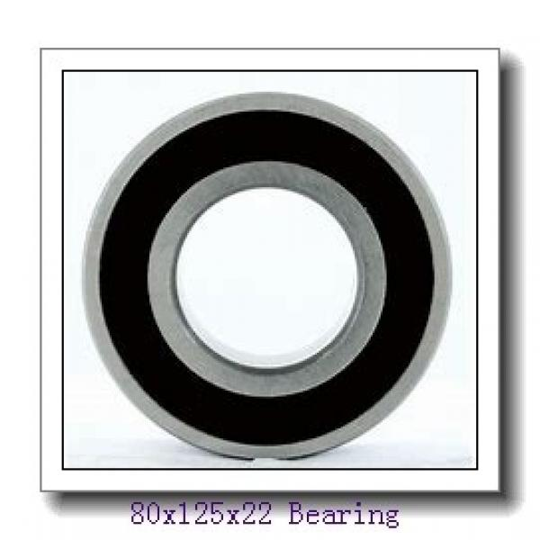 80 mm x 125 mm x 22 mm  CYSD NU1016 cylindrical roller bearings #1 image